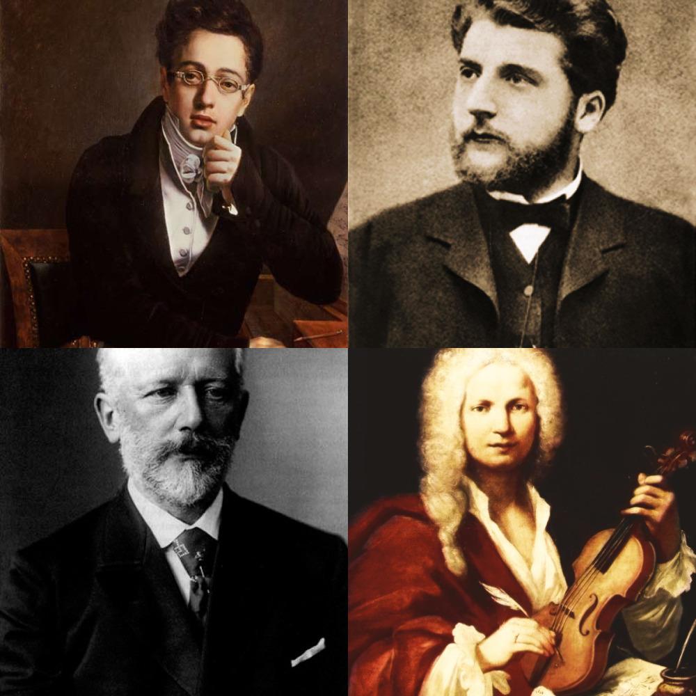легко фотографии композиторов классиков ней
