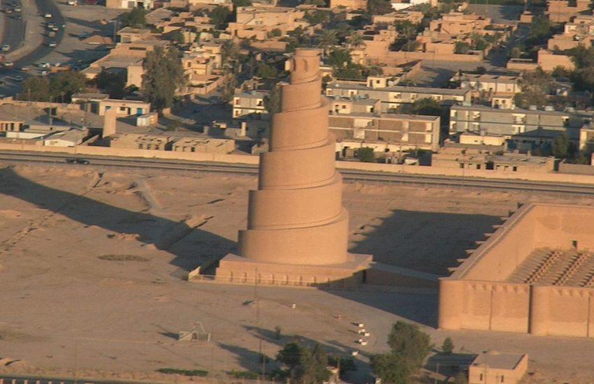 Спиральный минарет в Ираке под угрозой - relevant